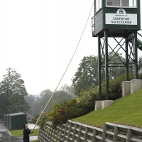 Chepstow Race Course - Water Fed Pole