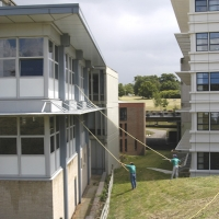 Essex University - 2 man water fed pole operation