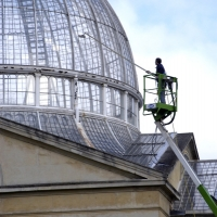 Syon Park Conservatory - Chery Picker & Water Fed Pole