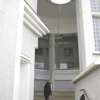 Tate St Ives - Reaching Difficult Interior Ceiling Windows