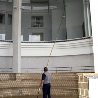 Tate St Ives - Water Fed Pole Cleaning
