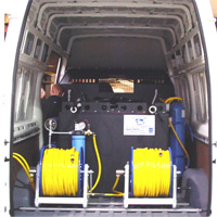 Aquafactors Van Systems - 1000\1200 Litre Window Cleaning Van System