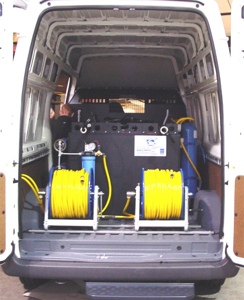 e4674b3f04 Aquafactors Van Systems - 1000 1200 Litre Window Cleaning Van System