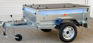 Window Cleaning Trailer Systems