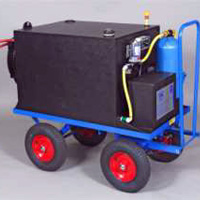 Aquafactors Trolley Systems - 360L Hand-Pulled Window Cleaning Trolley